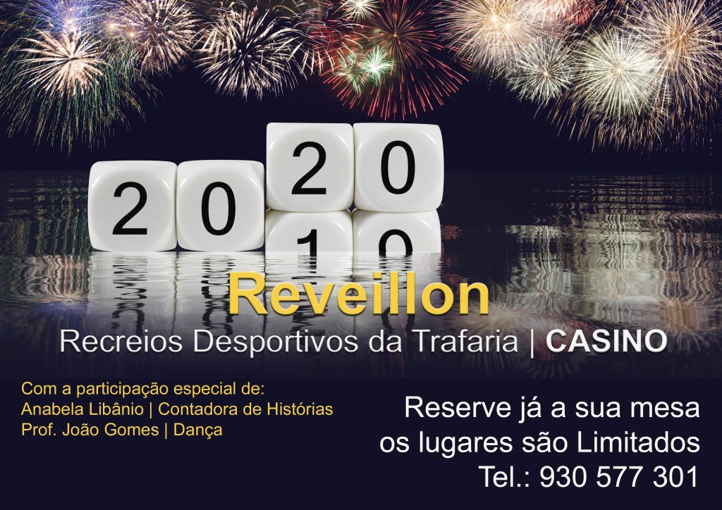 Reveillon 2020 | RDTCasino | Trafaria