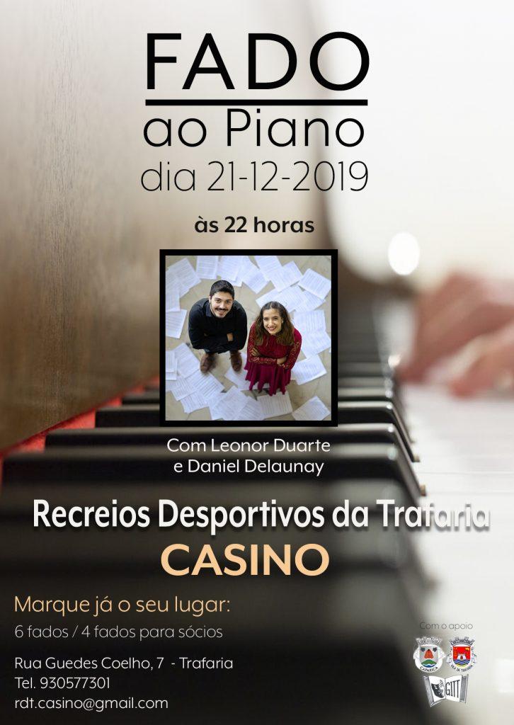 Fado ao Piano | 15 Dez 2019 | RDTCasino Trafaria