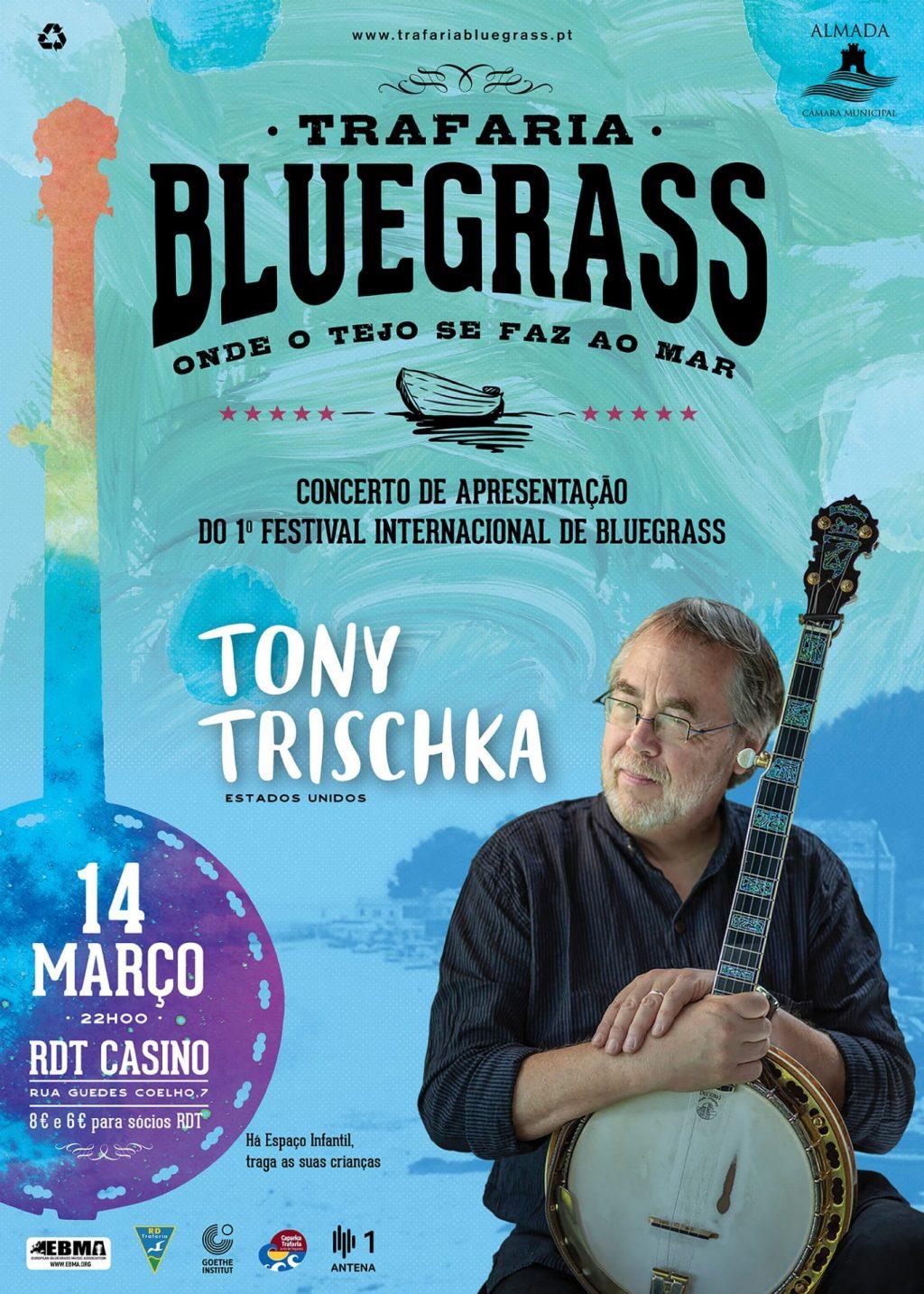 Tony Trischka | Trafaria Bluegrass | 14 de Março | RDTCasino